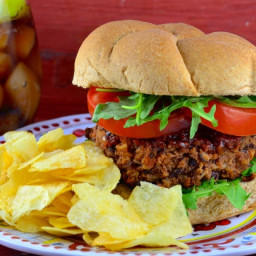Houston's Restaurant Copycat Veggie Burgers