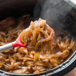 How To Caramelize Onions in the Slow Cooker