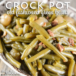 How to Cook Fresh Green Beans in the Crock Pot