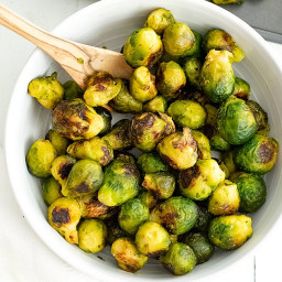 How to Cook Frozen Brussel Sprouts (air fryer, oven)