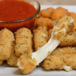 How To Cook Healthy Mozzarella Sticks