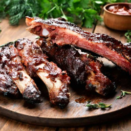 How to grill ribs fast - Tender ribs in only 1 hour