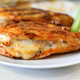 How to Make a Cheesy Buffalo Chicken Grilled Sandwich