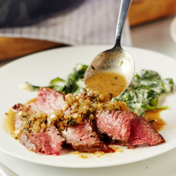 How To Make a Pan Sauce from Steak Drippings