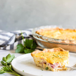 How To Make a Quiche (using any filling of your choice!)