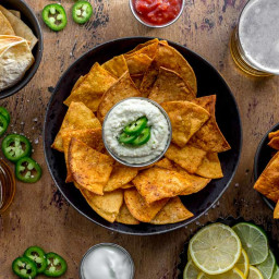 How to Make Air Fryer Tortilla Chips (with 5 Flavour Options!)