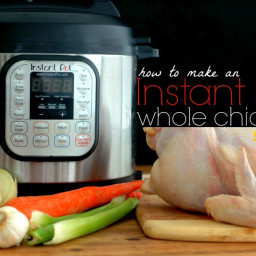 How To Make An Instant Pot Whole Chicken for FAST Healthy Meals From Soups,