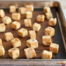 How to Make Baked Tofu for Salads, Sandwiches and Snacks