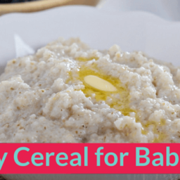 How to make Barley Cereal for Babies