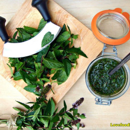 How To Make Easy Mint Sauce. Homemade recipe, great with a roast dinner or