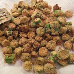 How to Make Fried Okra