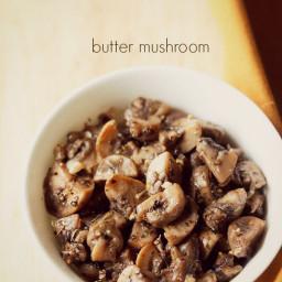 how to make garlic butter mushroom recipe
