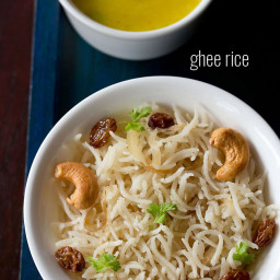 how to make ghee rice recipe