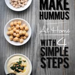How To Make Hummus (Gluten Free and Vegan)