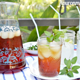 How to make Sweet Iced Tea