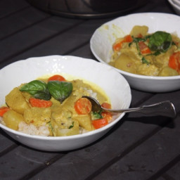 How to Make Thai Yellow Vegetable Curry