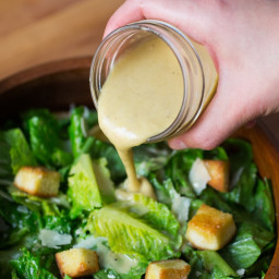 How To Make the Best Caesar Dressing