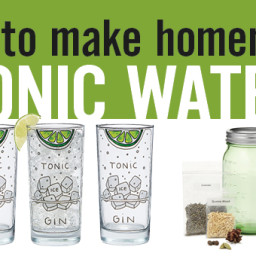 How to Make Tonic Water