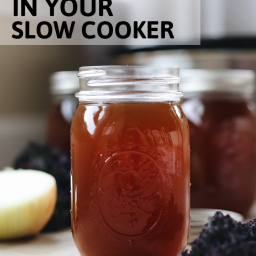 How To Make Vegetable Stock in Your Slow Cooker