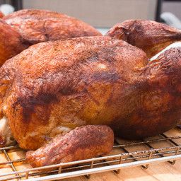 How to Smoke a Whole Chicken using an Electric Smoker