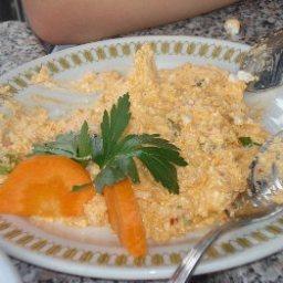 Htipiti Tirosalata (Mashed Cheese Salad)