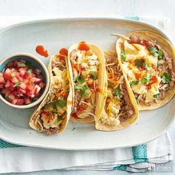 Huevos Tacos con Queso