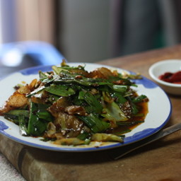 Hui Guo Rou (Twice Cooked Pork)