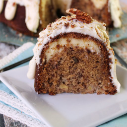 Hummingbird Bundt Cake with Cream Cheese Filling