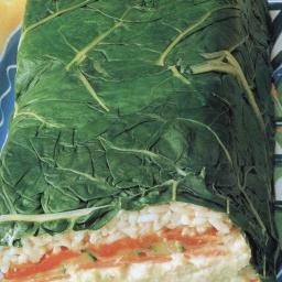 Hummus and Vegetable Terrine