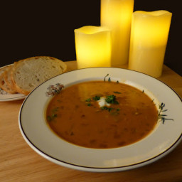 Hungarian Mushroom Soup, from the Moosewood Cookbook