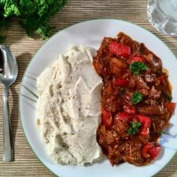 Hungarian Pork Stew - Pörkölt