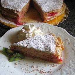 Hungarian Stacked Pancakes - Rakott Palacsinta