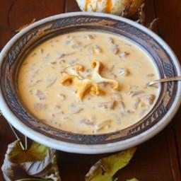 Hungarian Wild Mushroom Soup (Vegan, Dairy & Gluten-Free)