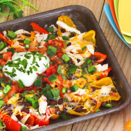 Hungry Chick' Bell Pepper Nachos