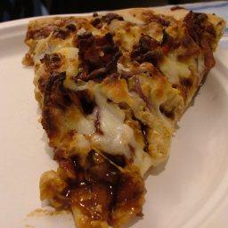 Hunts Bbq Chicken Pizza