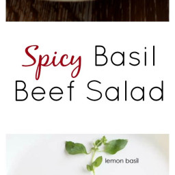 I love this, I have been wanting to try out a steak salad lately and this l