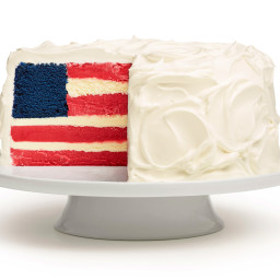 Ice Cream Flag Cake
