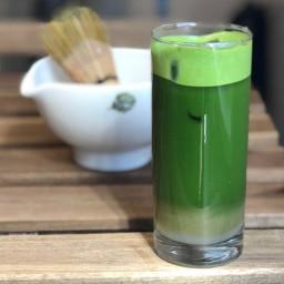 Iced Green Machine Matcha Infusion