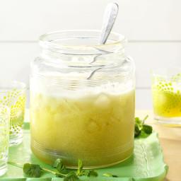 Iced Honeydew Mint Tea Recipe