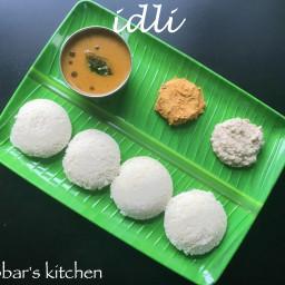 idli recipe | idly with idli rava recipe | soft and spongy idli recipe