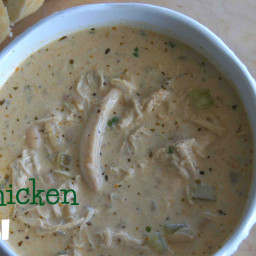 I'm Dreaming of a White Chili (a.k.a. White Chicken Chili)