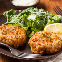 Imitation Crab Meat Crab Cake