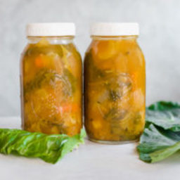 Immune Boosting Homemade Vegetable Broth