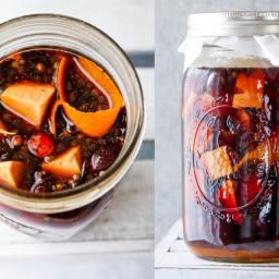 Immune-Boosting Winter Syrup (Oxymel)