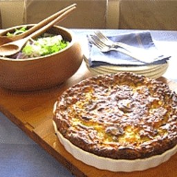 Impossible quiche recipe