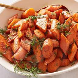 Ina's Roasted Carrots