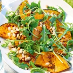India-Pumpkin & rocket salad