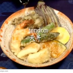 Tendon Japanese Tempura Rice Bowl Recipe
