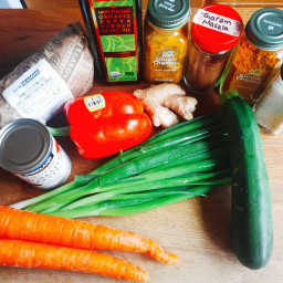 Indian Butter Chicken and Vegetable Curry (Low FODMAP, GF, DF)