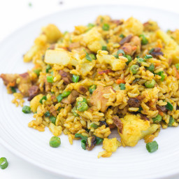Indian Curried Fried Rice